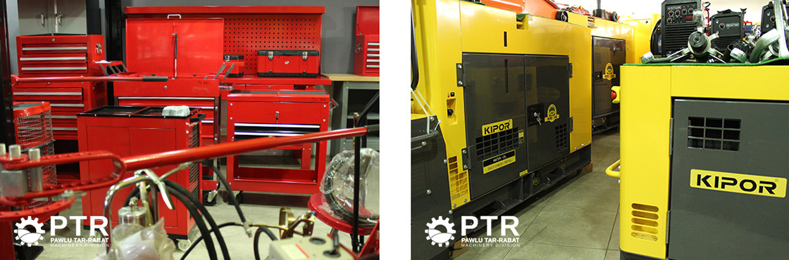 PTR Machinery Header